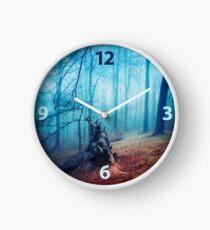 silent sadness Clock