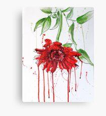 Red Gerbera Canvas Print