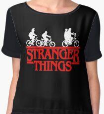 Stranger Things Bike Women's Chiffon Top