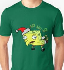 Mocking SpongeBob Santa T-Shirt