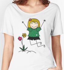 Sunny Girl Women's Relaxed Fit T-Shirt