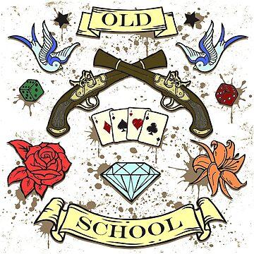 OLD SCHOOL by texta
