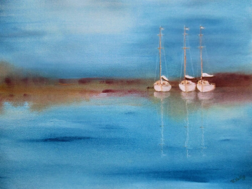 Yacht Haven by Valerie Anne Kelly