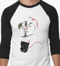 CELLULAR DIVISION II by elena garnu Men's Baseball ¾ T-Shirt