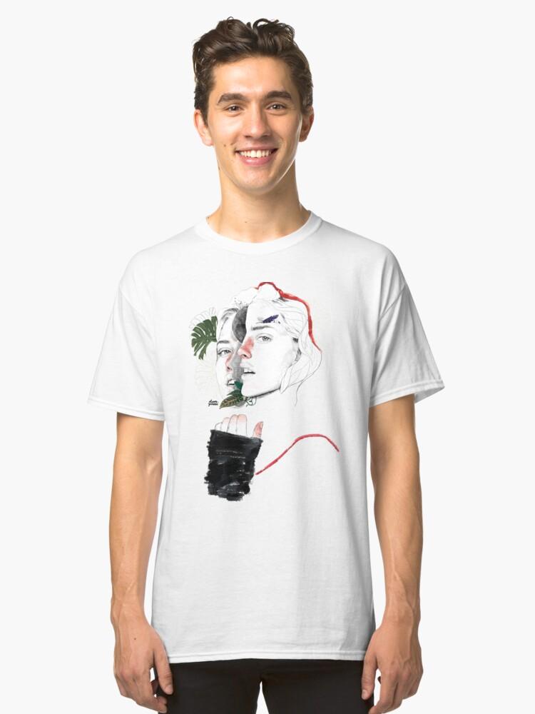 Vista alternativa de Camiseta clásica DIVISIÓN CELULAR II by elena garnu