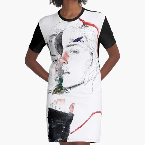 CELLULAR DIVISION II by elena garnu Graphic T-Shirt Dress