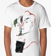 CELLULAR DIVISION II by elena garnu Long T-Shirt