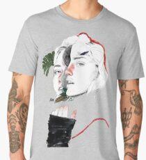CELLULAR DIVISION II by elena garnu Men's Premium T-Shirt