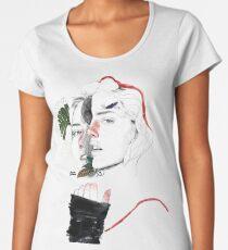 CELLULAR DIVISION II by elena garnu Women's Premium T-Shirt
