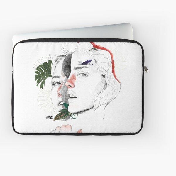 CELLULAR DIVISION II by elena garnu Laptop Sleeve