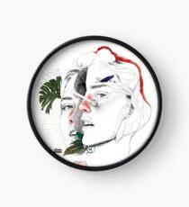 CELLULAR DIVISION II by elena garnu Clock