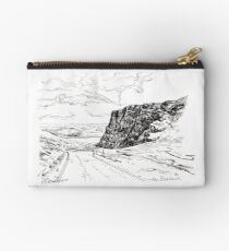 The bealach. pen & ink Studio Pouch