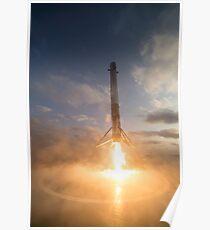 SpaceX-Landung Poster
