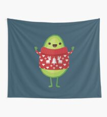 Avo Merry Christmas! Wall Tapestry
