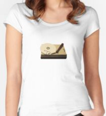 gypsy clouds Women's Fitted Scoop T-Shirt