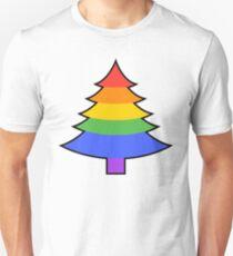 GAY PRIDE RAINBOW CHRISTMAS TREE T-Shirt