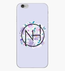 Niall purple floral iPhone Case