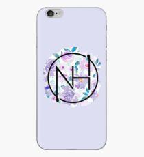 Vinilo o funda para iPhone Niall púrpura floral