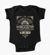 A Very Winchester Business One Piece - Short Sleeve