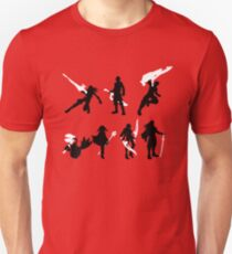Xenoblade party silhouette (ver. 2) T-Shirt