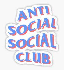 ASSC Blue + RED Sticker