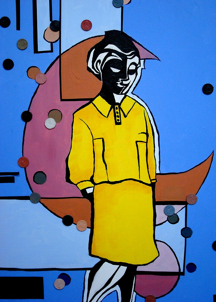 Woman in the Yellow Dress by Steven Novak
