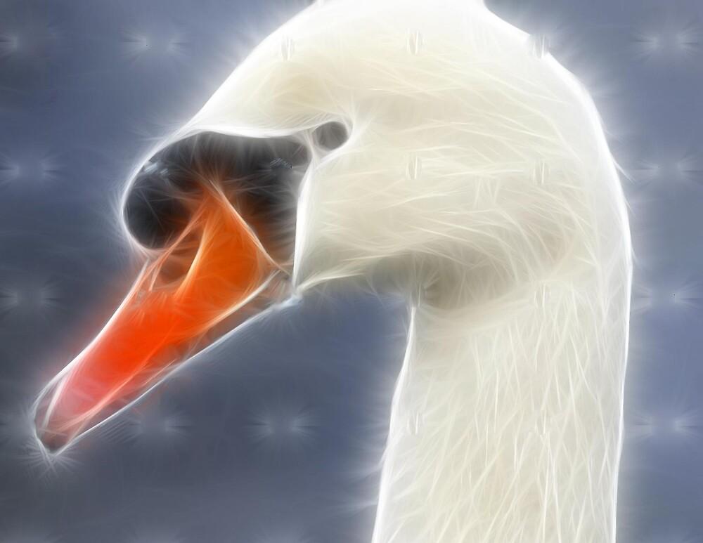 Fractalius swan by alaskaman53