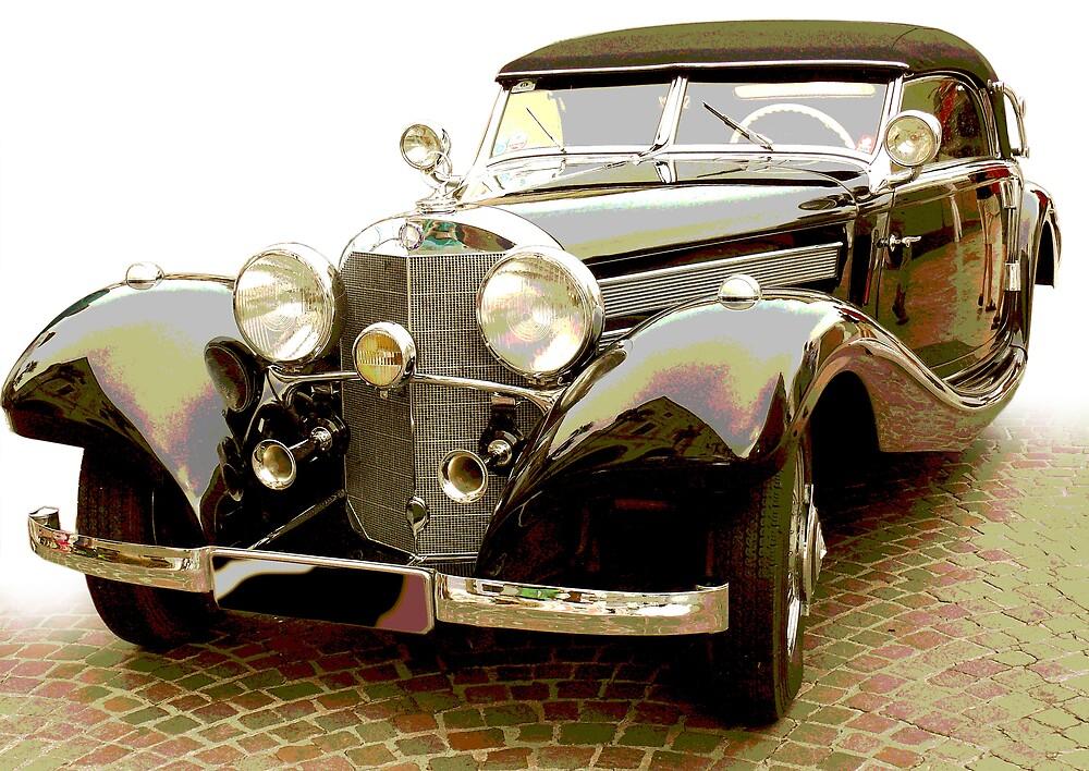 Classic Mercedes Car by amulya