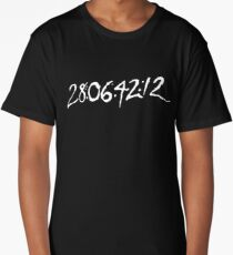 Donnie Darko Numbers Long T-Shirt