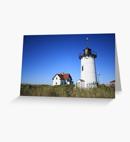 Race Point Light. Greeting Card