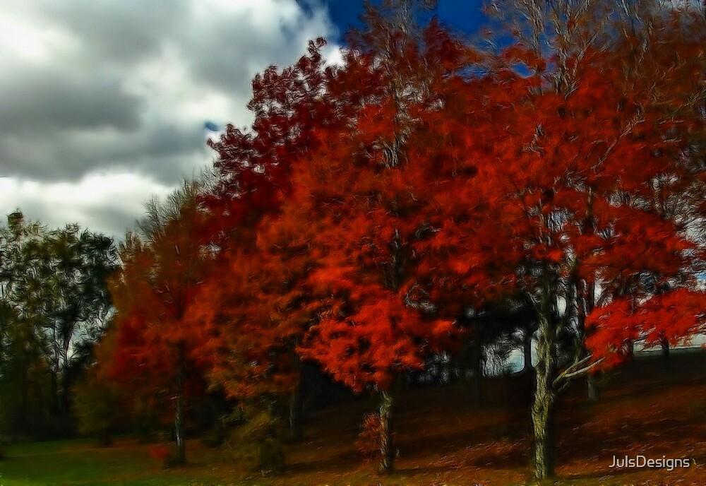Fall Reds by JulsDesigns