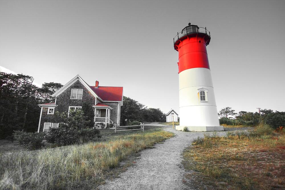 Nauset Light, Massachusetts. by Artist Dapixara