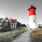 Nauset Light, Massachusetts. by Artist Dapixara