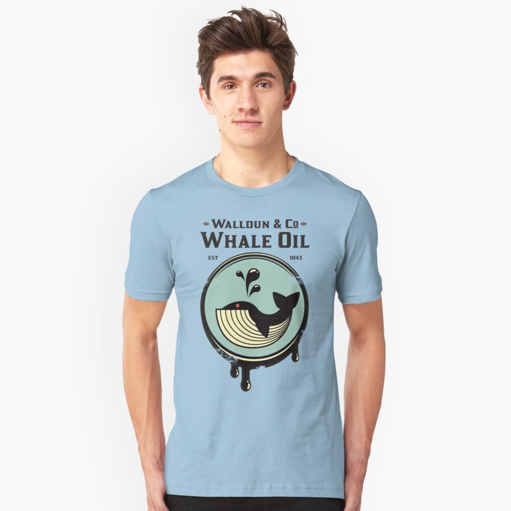Walldun & Co, aceite de ballena Camiseta ajustada