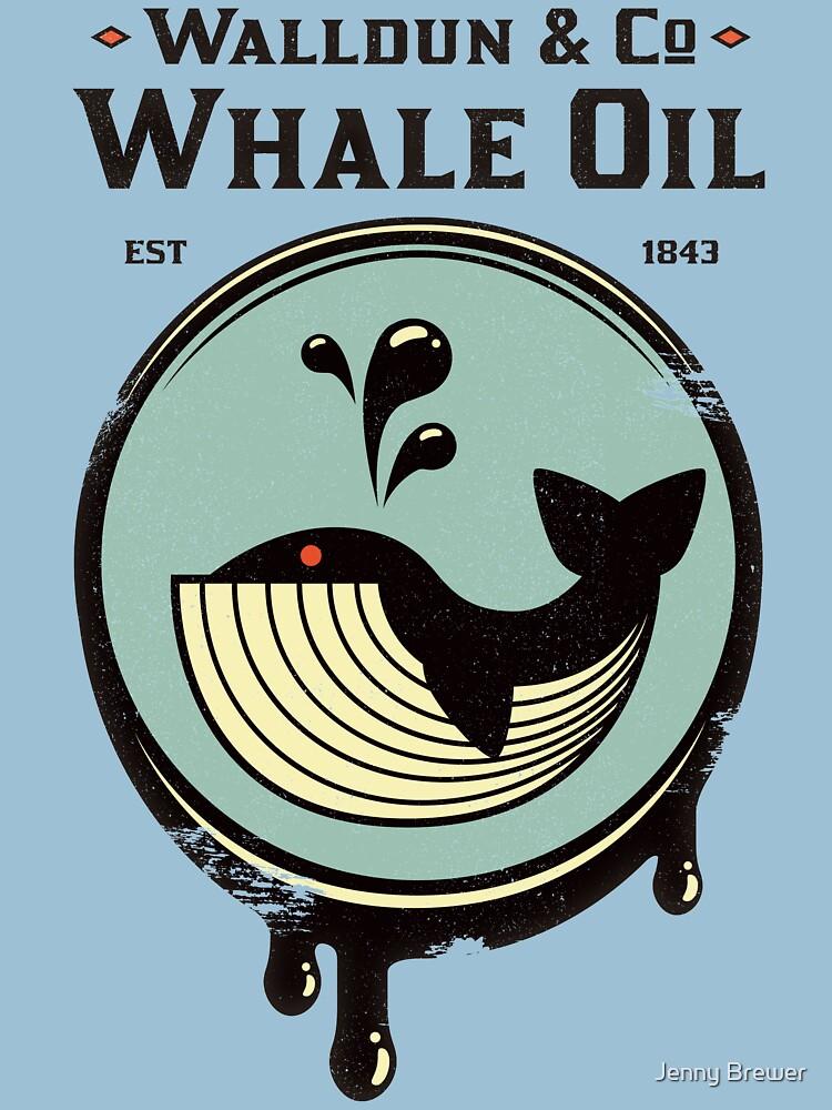 Walldun & Co, aceite de ballena de MissJen