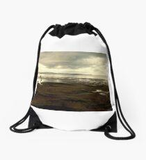 The Long Way Home Drawstring Bag