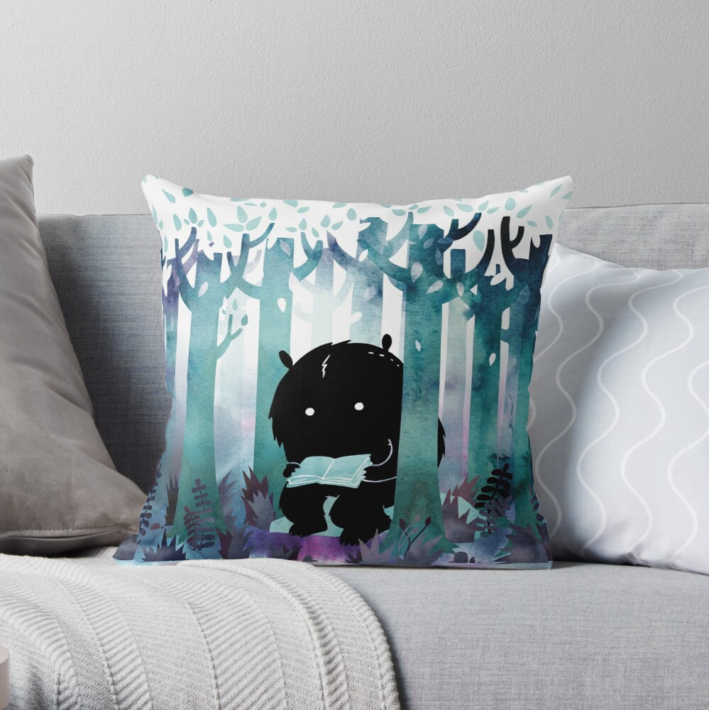 A Quiet Spot Throw Pillow