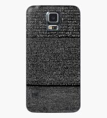 Funda/vinilo para Samsung Galaxy Rosetta Stone