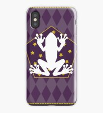 Chocolate frog card iPhone Case/Skin