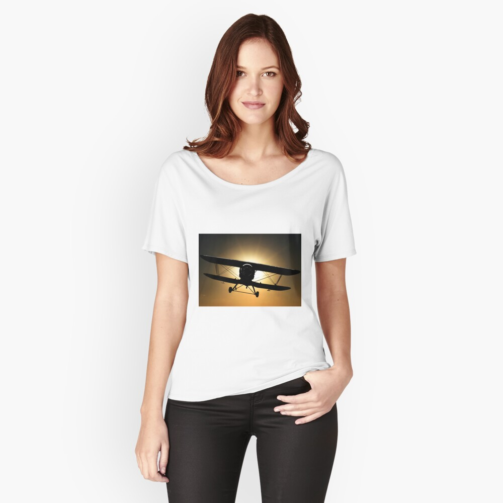 The Black Baron Women's Relaxed Fit T-Shirt Front