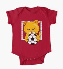 Soccer Bear One Piece - Short Sleeve