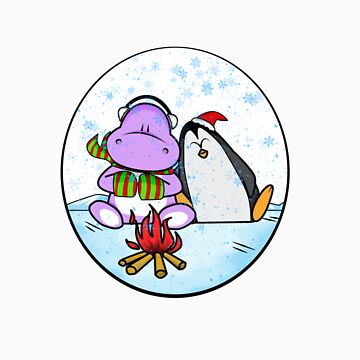 Hippo & Penguin by nty6x
