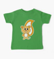 Rally Squirrel Baby Tee