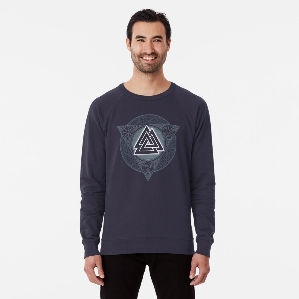 VALKNUT. ICE FLAME. Lightweight Sweatshirt