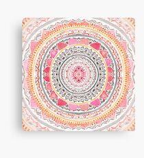 Lienzo Pastel Bohemian Mandala