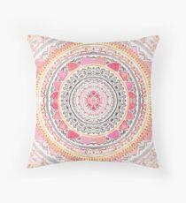 Pastel Bohemian Mandala Floor Pillow