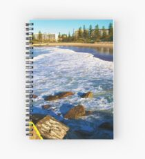 Port Macquarie Lookout over the sea. Spiral Notebook