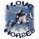 I LOVE HORSES by Squealia