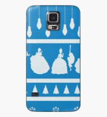 Princesses Christmas Jumper Inspired Silhouette Case/Skin for Samsung Galaxy