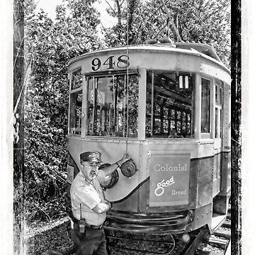 Managing Trolley Car 948 by dmarciniszyn